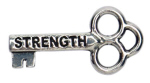 Strength Mini Key (bulk of 25 keys)