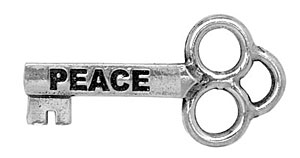 Peace Mini Key (bulk of 25 keys)
