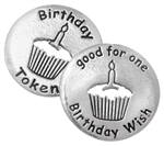 Birthday Token (bulk of 25 tokens)