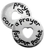 Prayer Coin (bulk of 25 tokens)