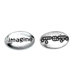 Imagine Braille Word Pebble (bulk of 25)